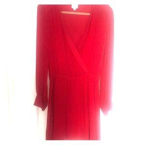 Red Parker Dress Medium